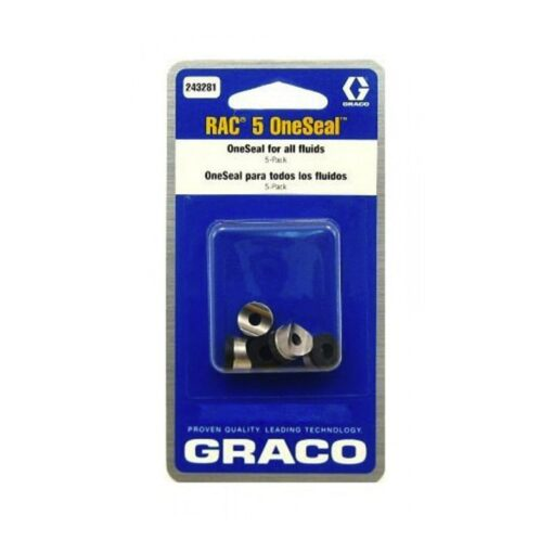 Graco Rac 5 Tip Gaskets 5 pack