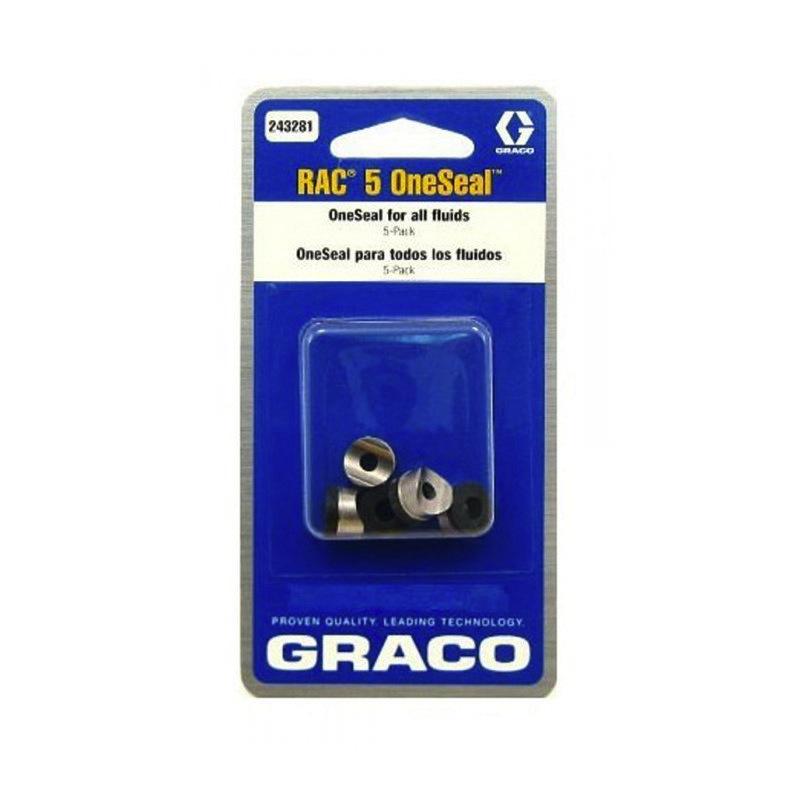 Graco Rac 5 Tip Gaskets 5 pack