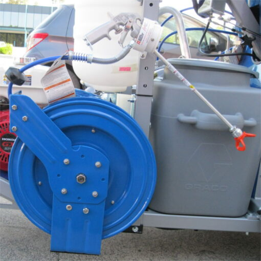 Retractable Airless Hose Reel