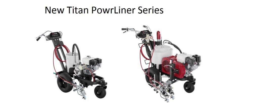 titan powrliner series at access linemarking equipment