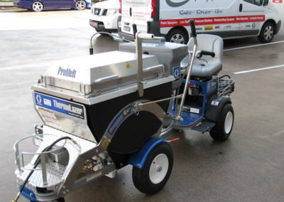 Graco ThermoLazer ProMelt with LineDriver