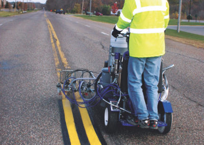 Graco self propelled Linemarker