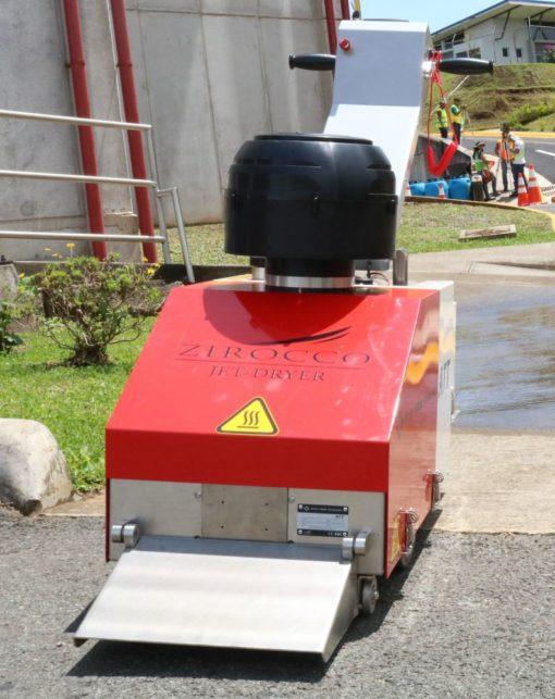 Zirocco M100 road surface dryer